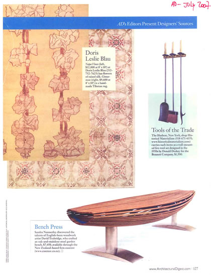 Architectural Digest, July 2007, p. 5