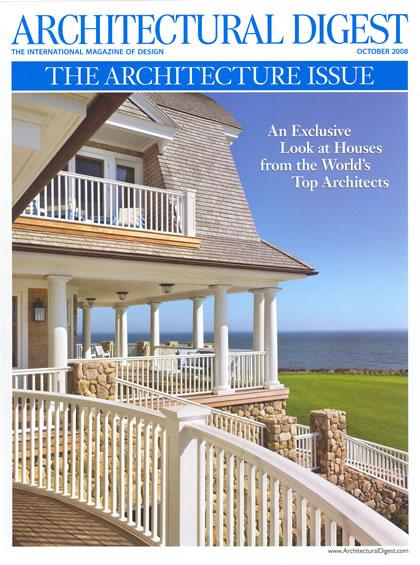 Architectural Digest, octubre 2008