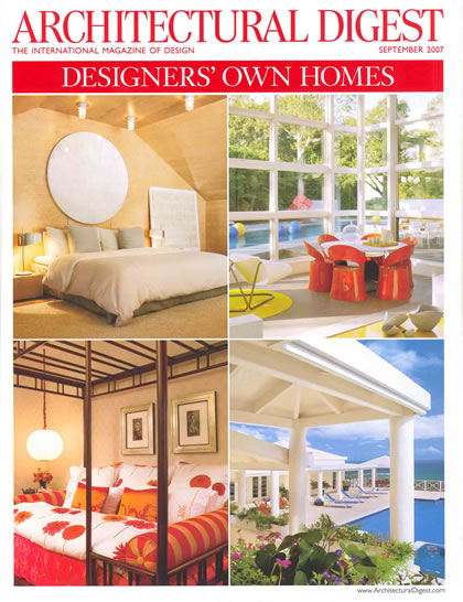 Architectural Digest, septiembre 2007