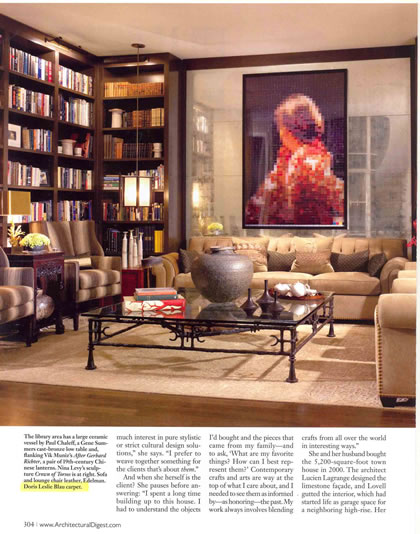 Architectural Digest, September 2007, p. 2