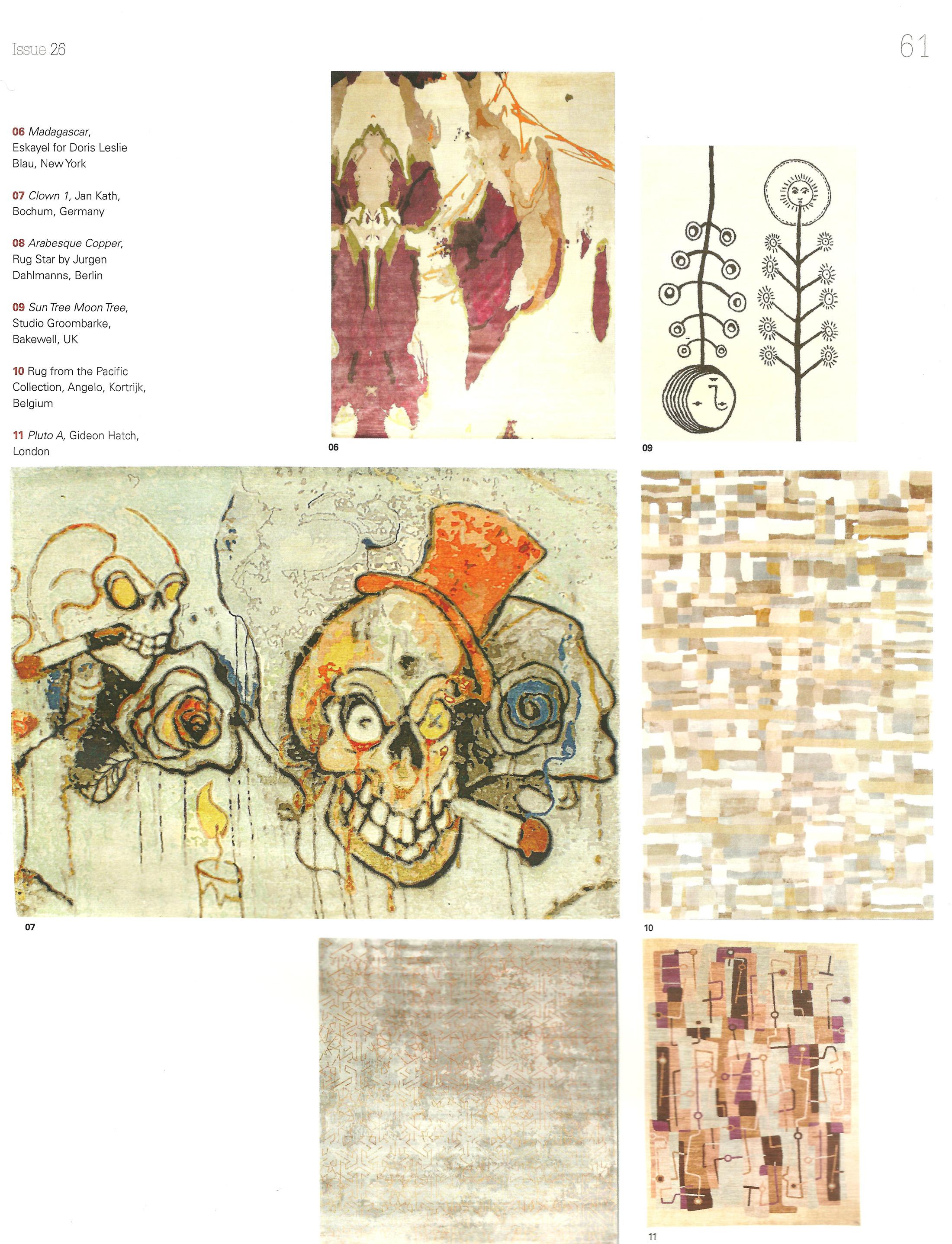 Cover Moderne Hali, Frühling 2012