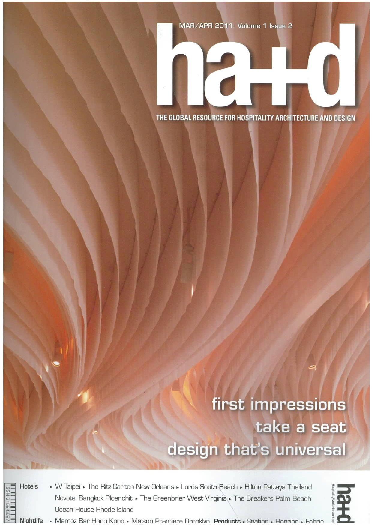 ha + d, marzo / abril 2011, 1 volumen, número 2