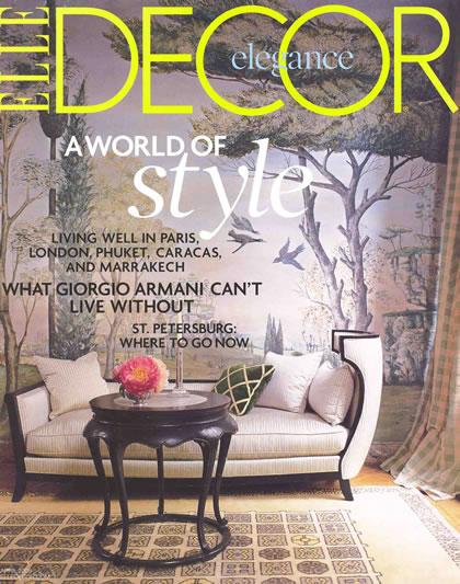 Elle Decor, April 2008