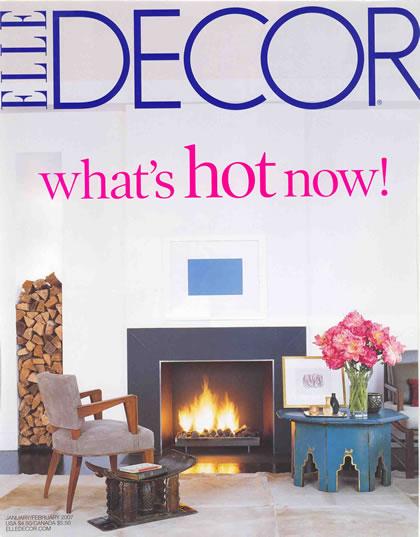 Elle Decor, enero 2007