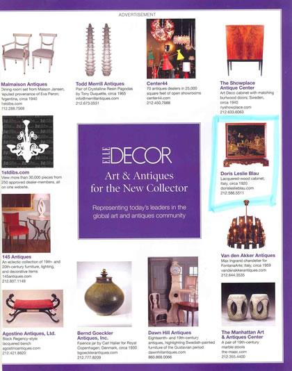 Elle Decor, enero 2007, p. 3