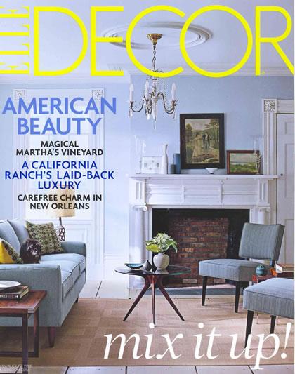 Elle Decor, July 2008