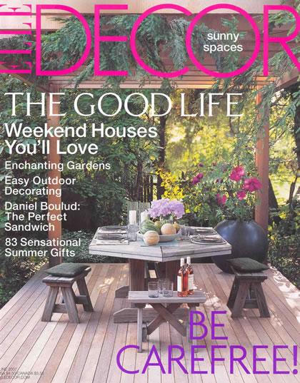 Elle Decor, June 2007