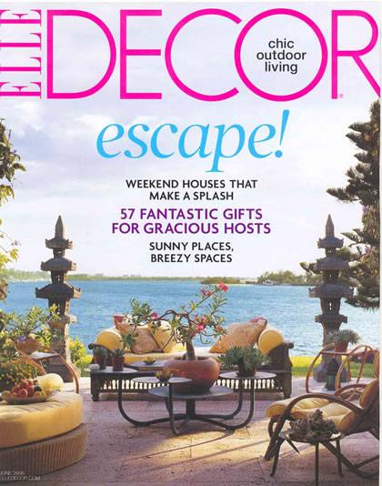 Elle Decor, June 2008