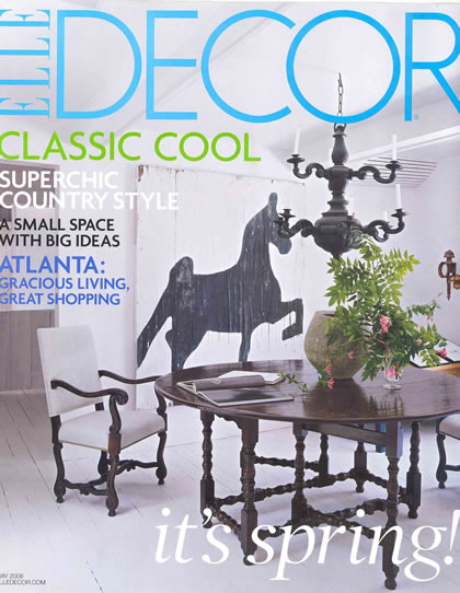 Elle Decor, May 2008