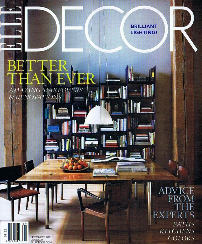 Elle Decor, September 2011