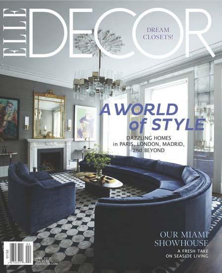Elle Decor, April 2012