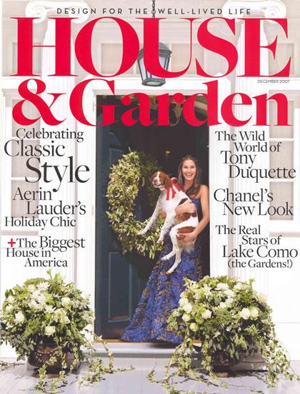 House & Garden, December 2007