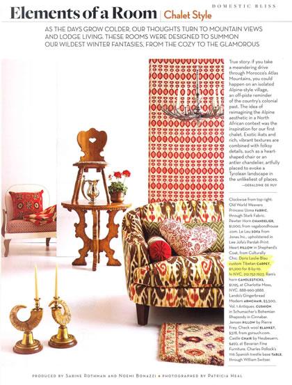 House & Garden, December 2007, p. 2