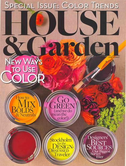 House & Garden, March 2007