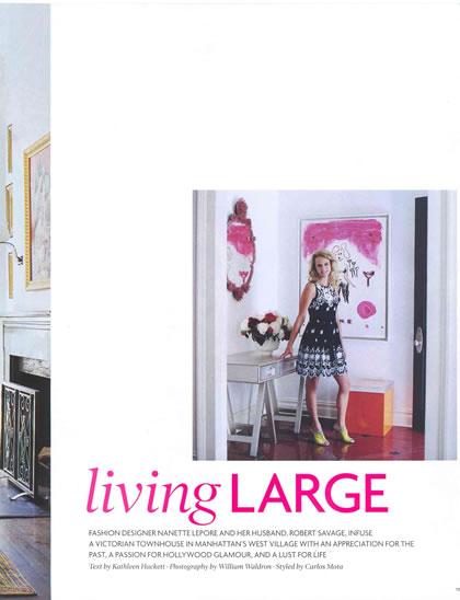 Elle Decor, September 2008, p. 3
