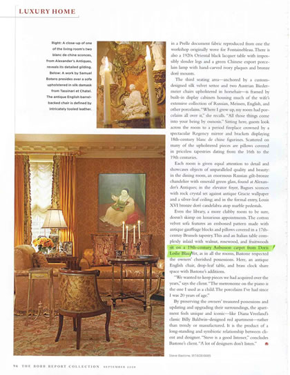 Robb Report Collection, September 2008, p. 4