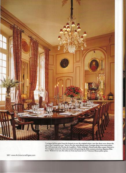 Architectural Digest, September 2009, p. 6