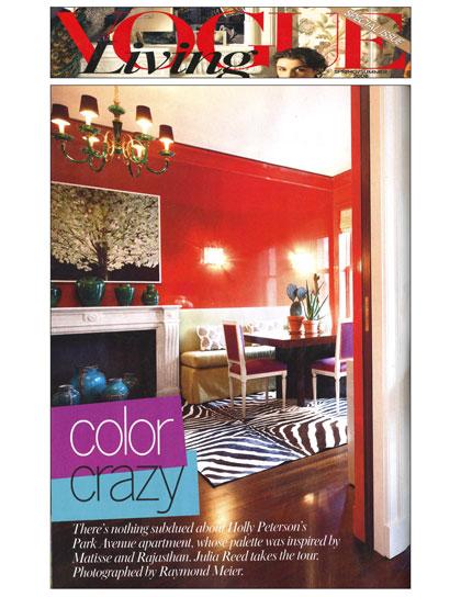 Vogue Living, April 2008