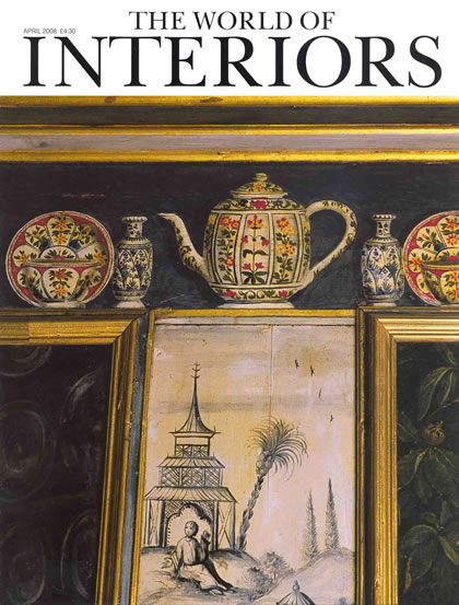 World of Interiors, abril de 2008