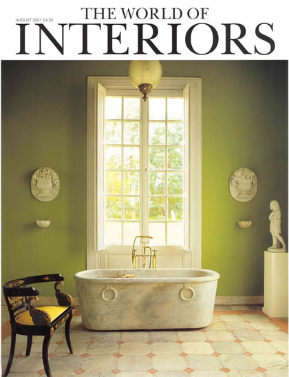 World of Interiors, August 2007