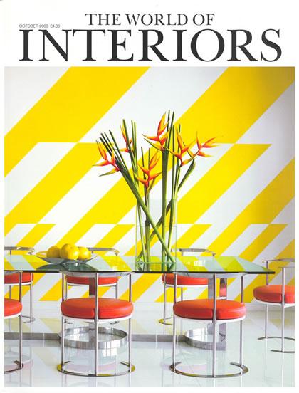 World of Interiors, Oktober 2008