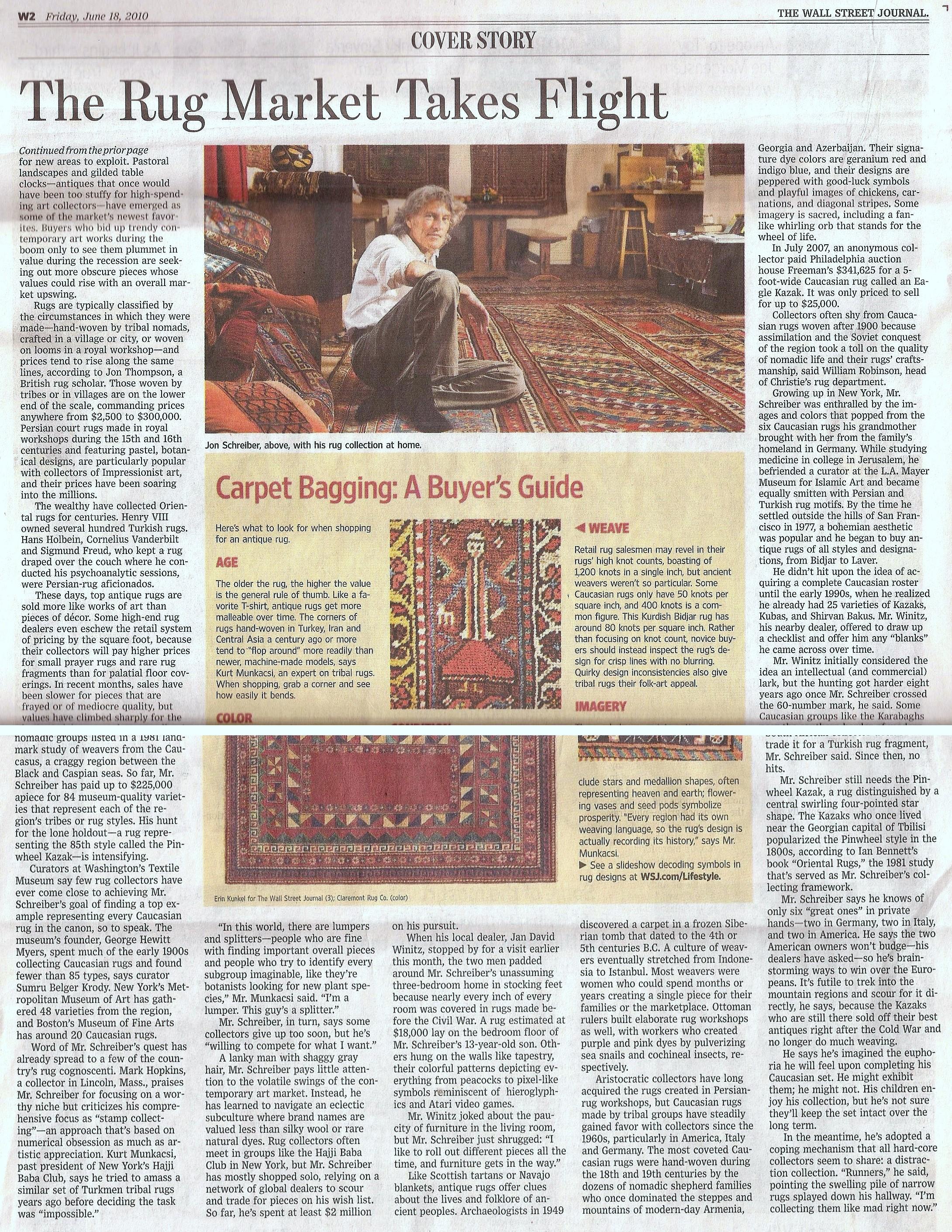Wall Street Journal, June 2010