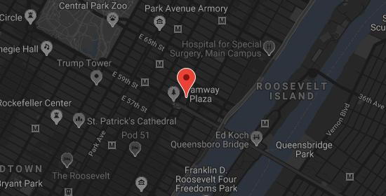 Doris Leslie Blau NYC Mapa do revendedor de tapetes