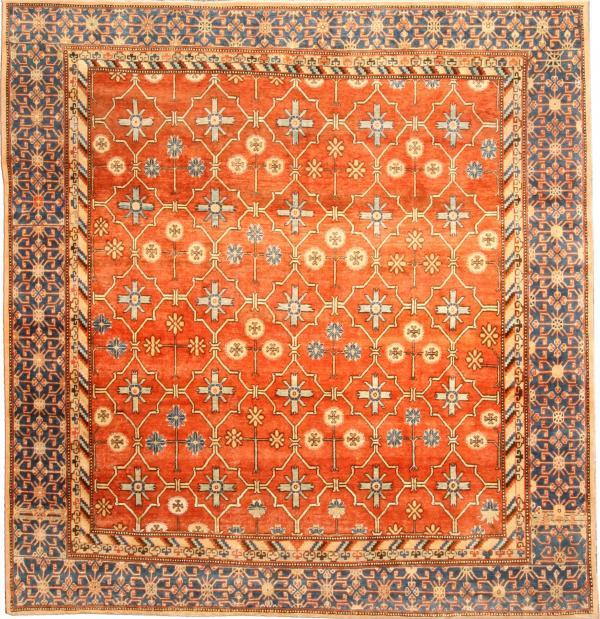 An Antique Samarkand Rug, circa 1900