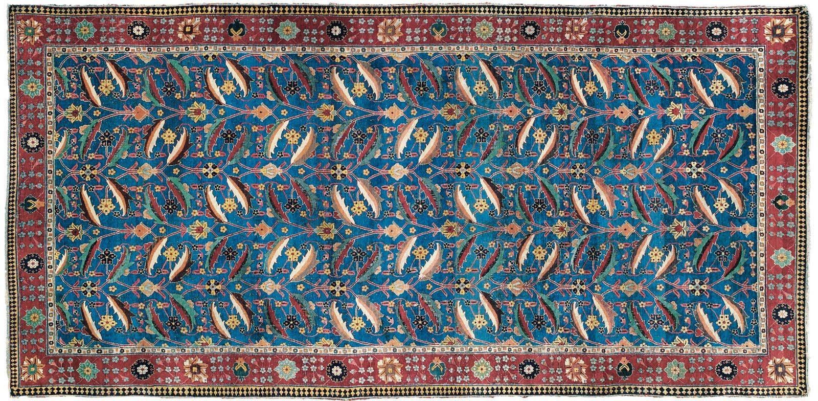 Persian Kirman Rug sold in 2010 for 10M
