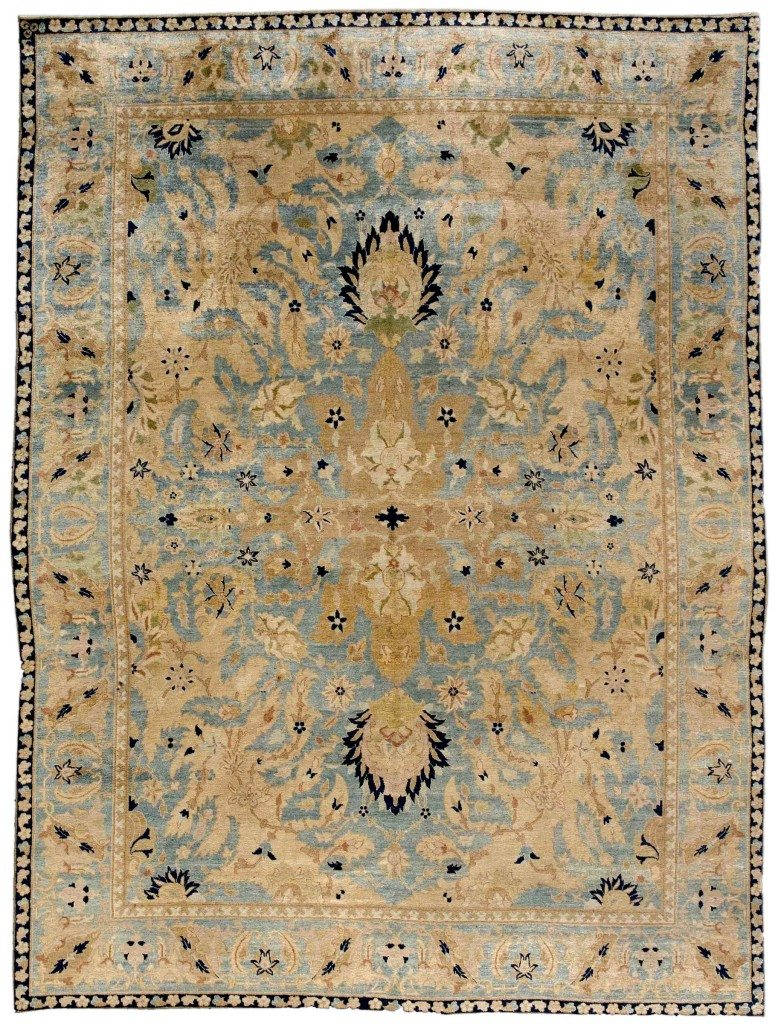 antique-rugs-persian-tabriz-blue-botanical-bb3627-12x10