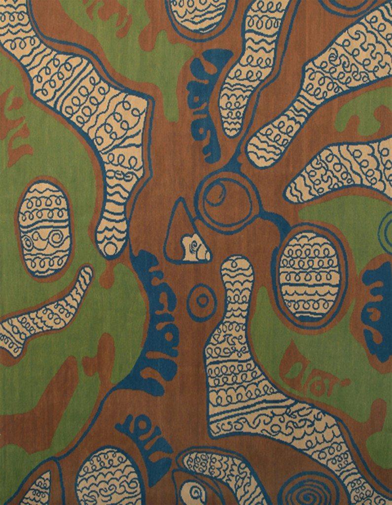 new-carpets-designer-kim-alexandriuk-tattoo-n-flat-weave-green-n10729-12x9