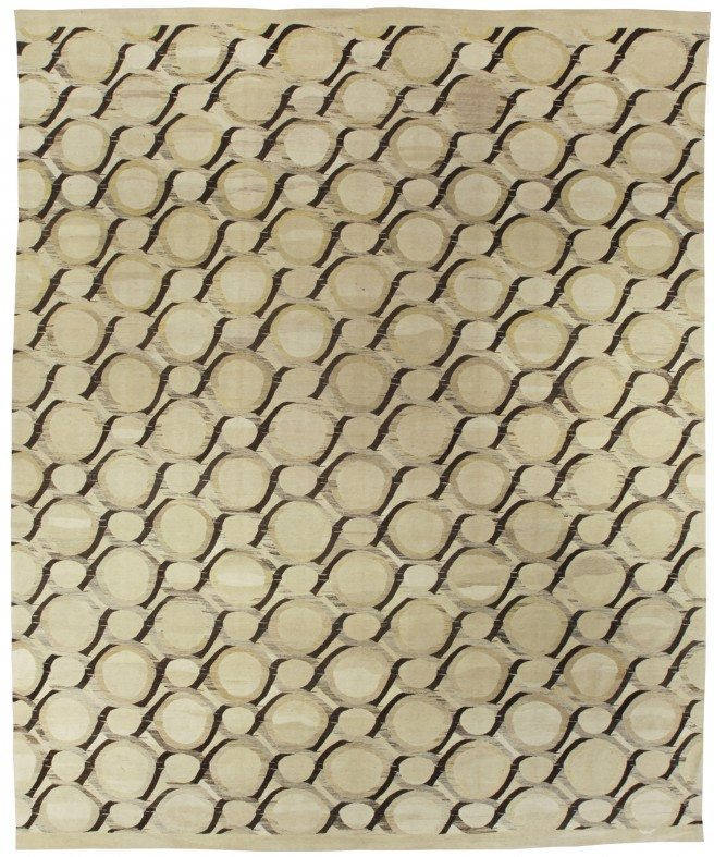 rug-contemporary-flat-weave-sample-colors-yellow-custom-wool-abstract-geometric-n10713-16x13