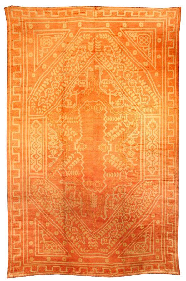 antique-rug-turkish-oushak-orange-geometric-bb0552-18x12 copy