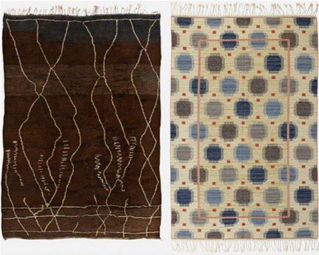 Swedish vintage rugs