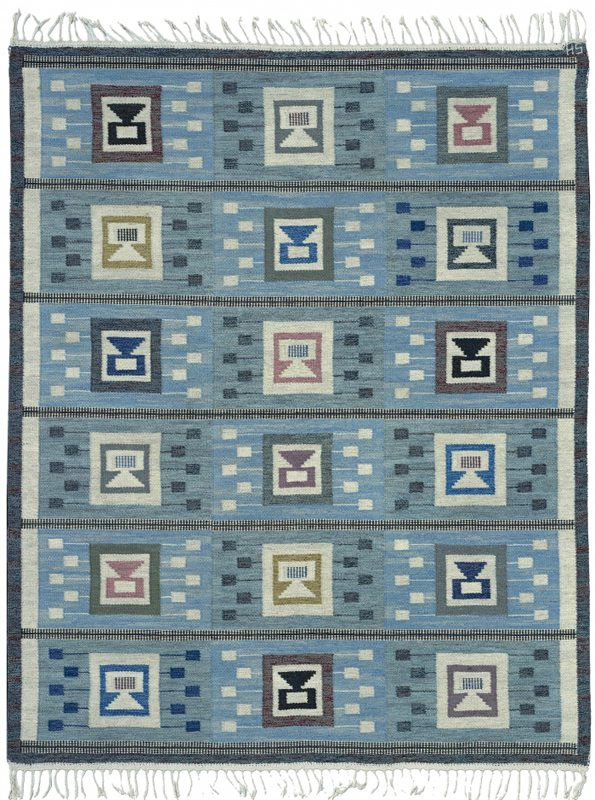 vintage-carpet-swedish-flat-woven-blue-geometric-bb4722-8x7