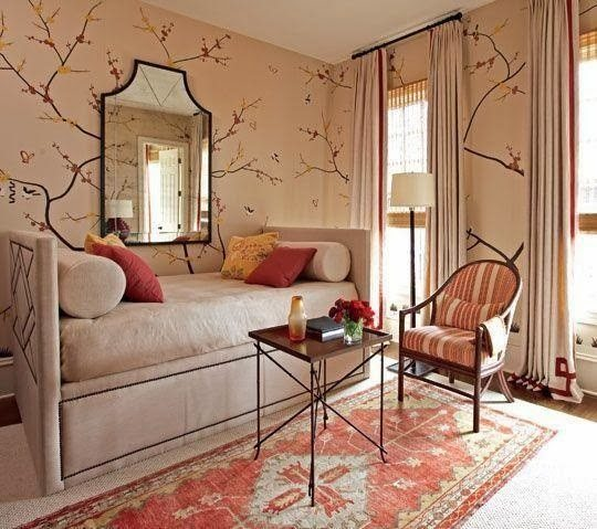 Take a look at these wonderful examples of chinoiserie, I hope they inspire you as they did me2
