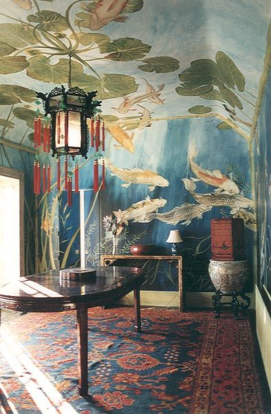 The Chinoiserie murals of Michael Dillon