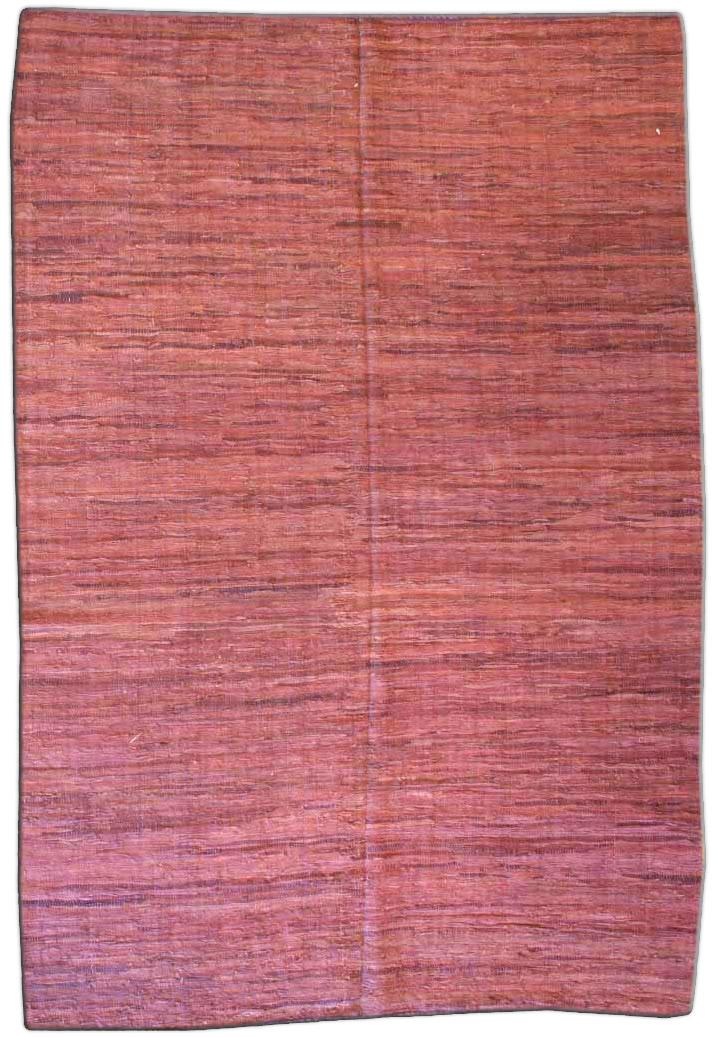 vintage-rug-european-american-hooked-rag-red-minimalist-bb3181-9x6