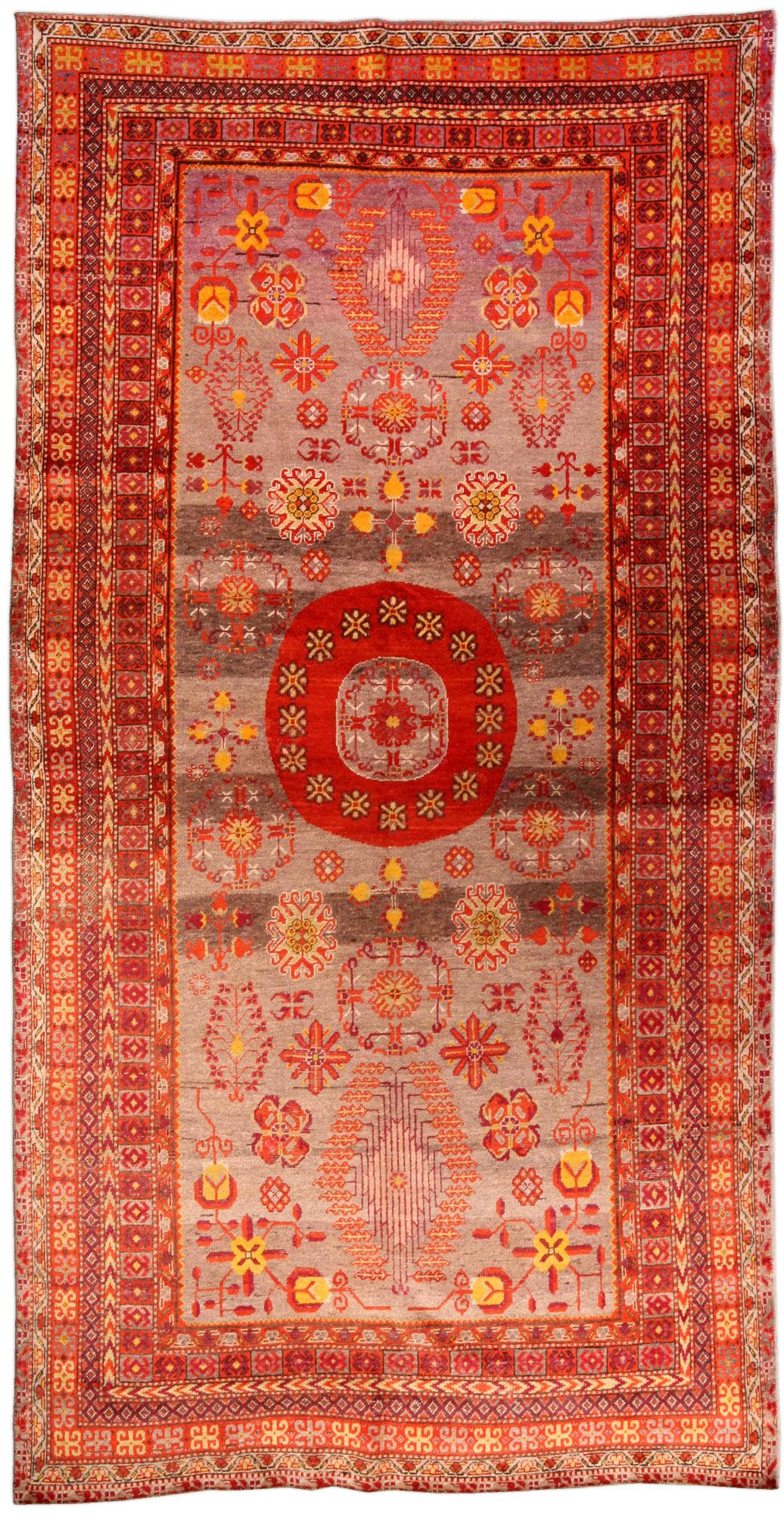 vintage-carpet-chinese-samarkand-khotan-red-geometric-bb4629-12x6