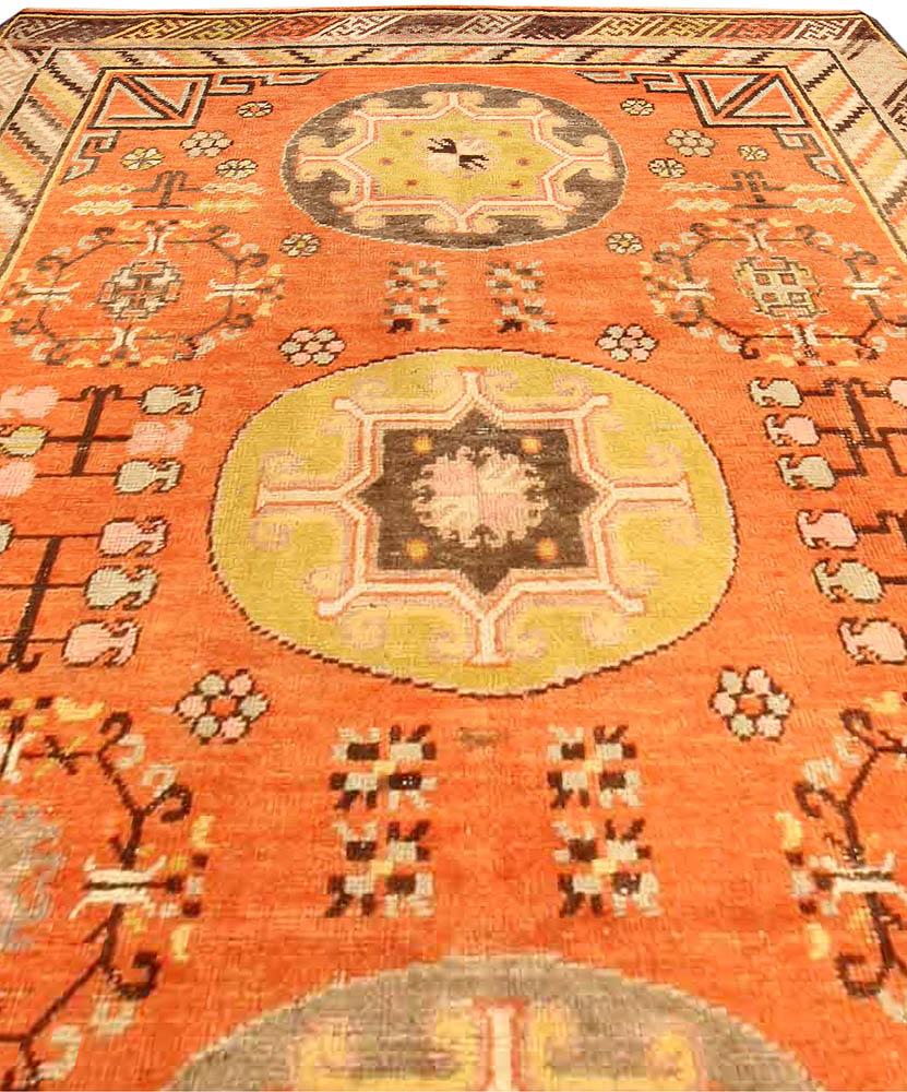 vintage-rugs-chinese-samarkand-khotan-orange-geometric-bb3957-10x5-d2