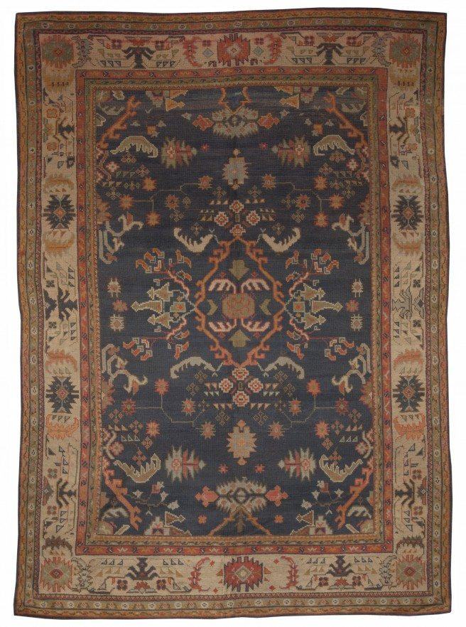 antique-rugs-turkish-oushak-blue-floral-abstract-bb5083-13x9
