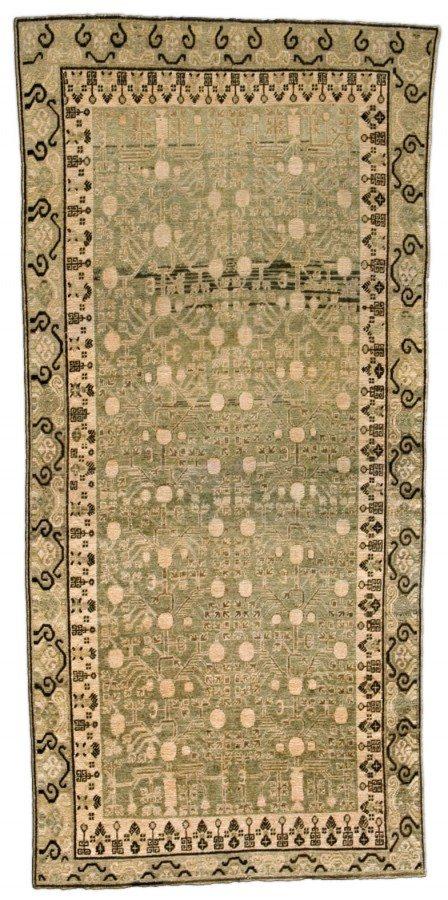 vintage-carpet-chinese-samarkand-khotan-green-geometric-botanical-bb4388-12x6