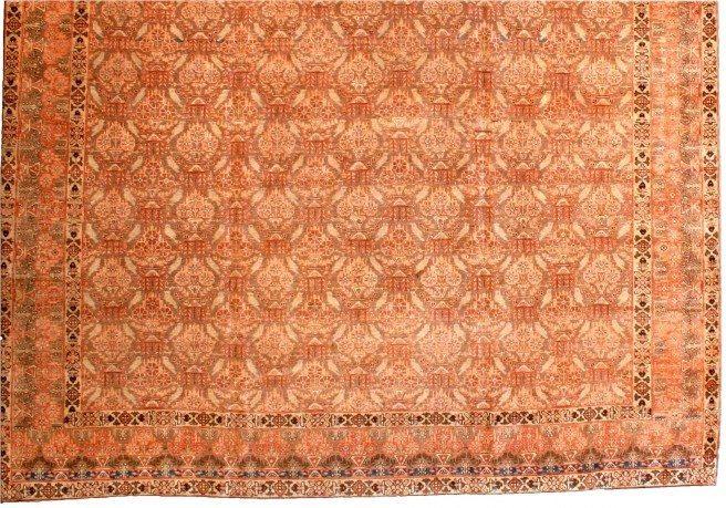 antique-carpet-persian-tabriz-brown-botanical-bb2961-11x10