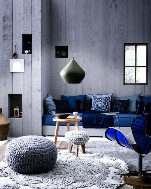 blau Interieur