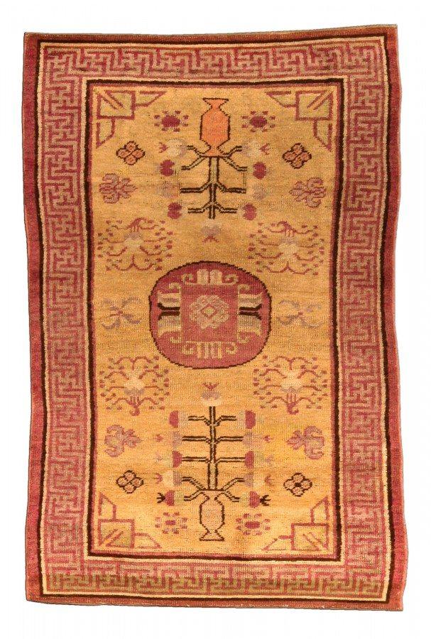 vintage-tapetes-chinês-samarkand-khotan-bege-geométrico-bb4437-5x3