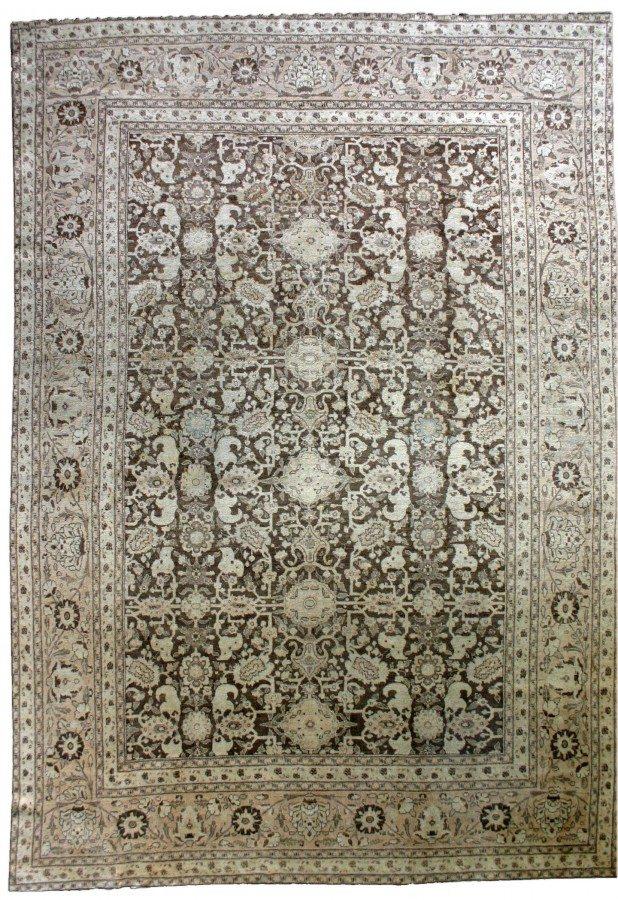 antique-carpets-persian-tabriz-brown-botanical-bb2610-12x9