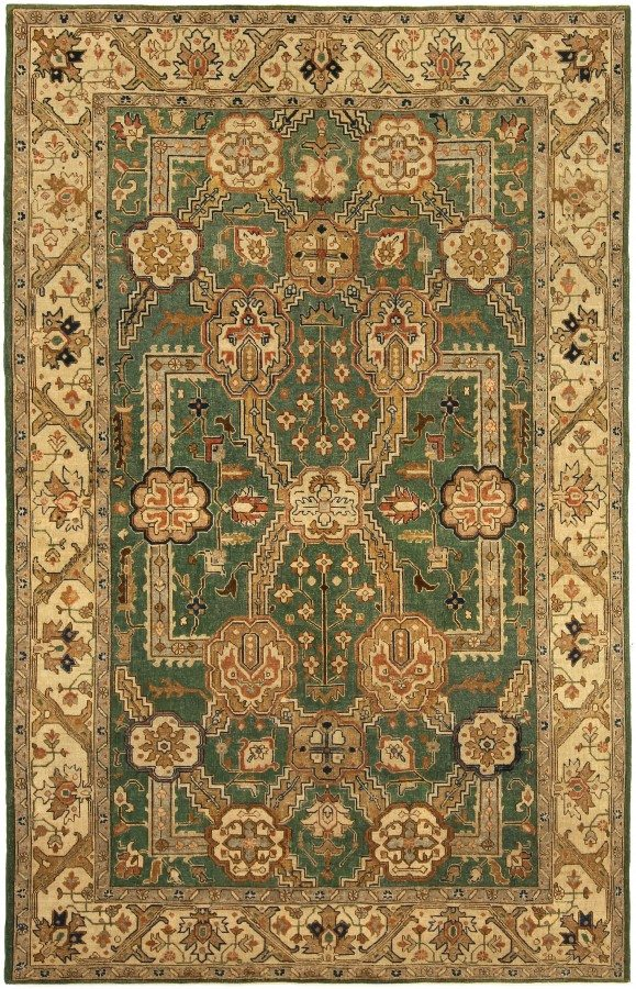 antique-rug-persian-tabriz-green-botanical-bb5166-9x6