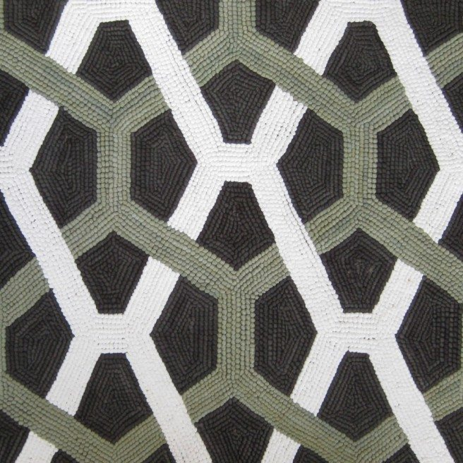 novo tapete-hooked-samples-cotton-green-geometric-other-n10278s