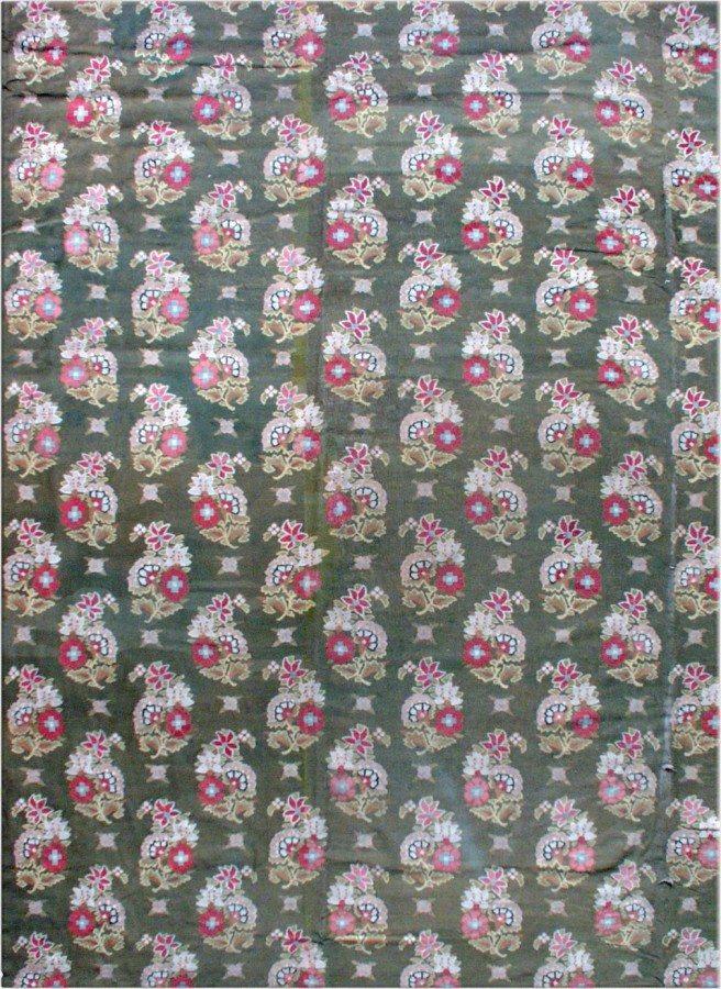 antique-rug-european-american-french-aubusson-savonnerie-green-botanical-bb0134-13x12