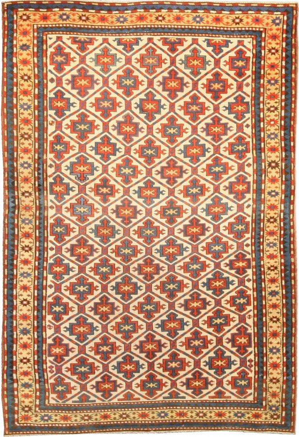 antique-rugs-kazak-red-geometric-botanical-bb4749-8x4